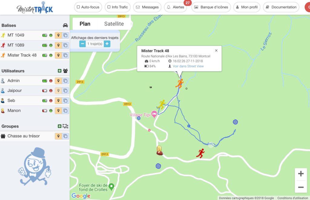 Localizador GPS para caza al tesorio