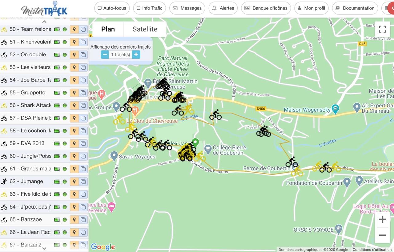 Localizador GPS para trail