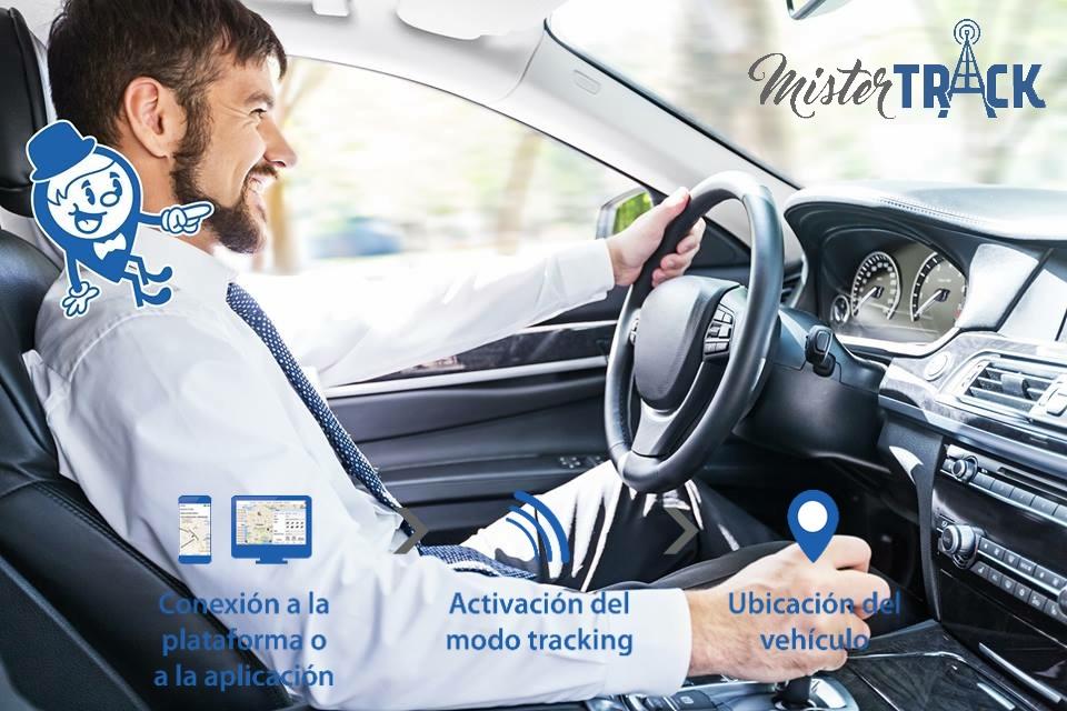 Localizador GPS flota vehiculo