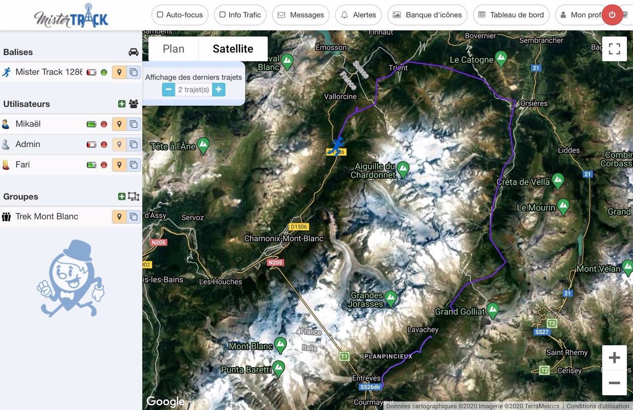 Trek Mont Blanc