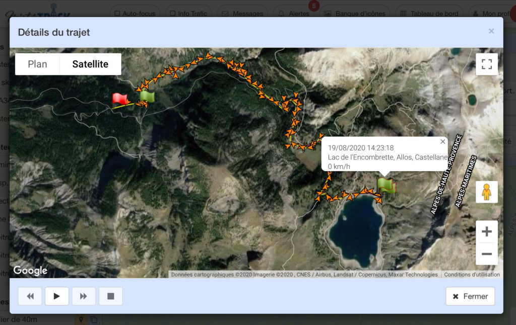 Trekking lago Allos GR56