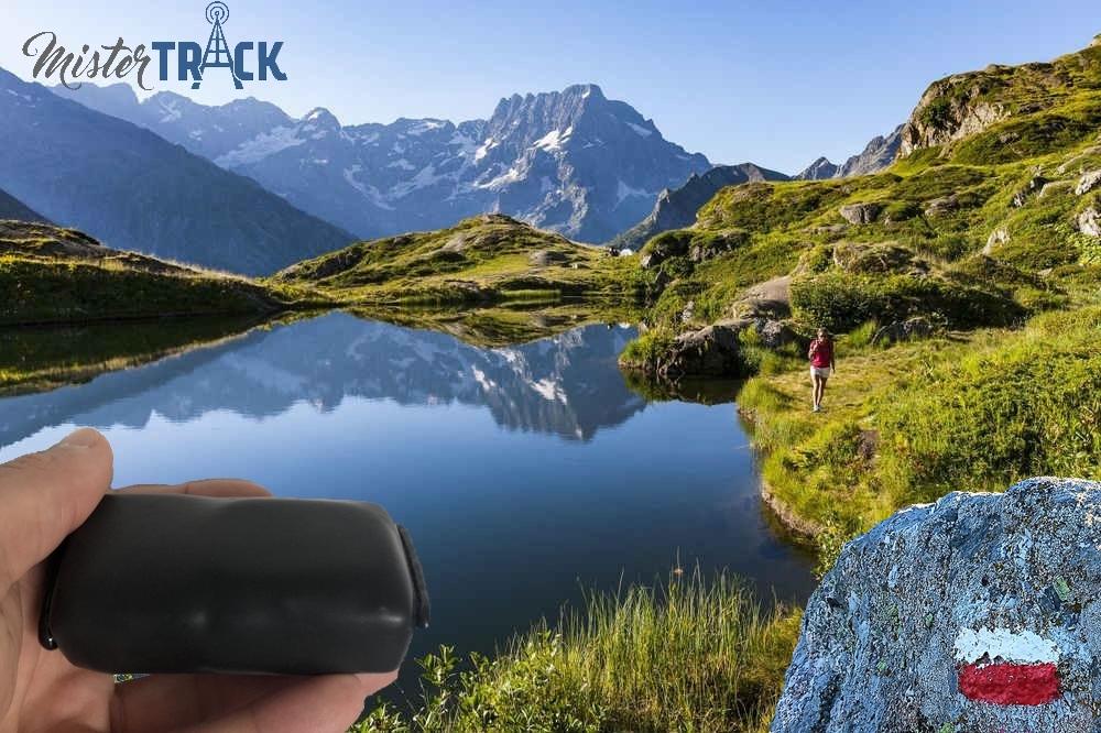 Traceur GPS pour randonnée GR