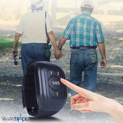 Bracelet traceur GPS pour sénior